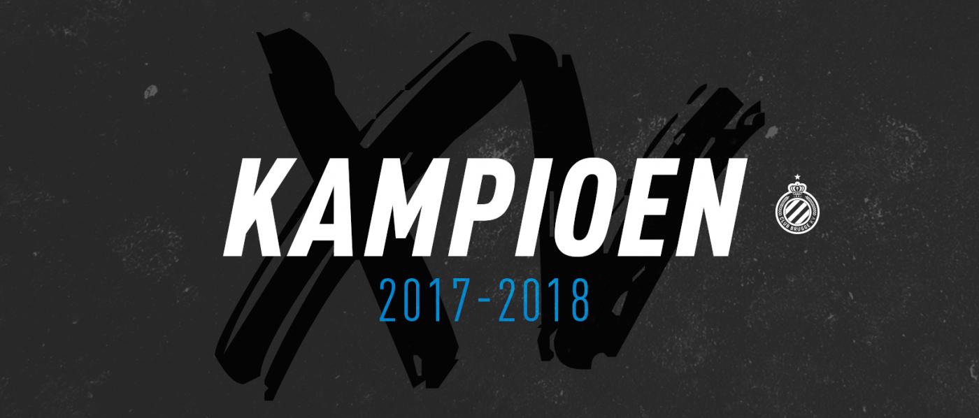 Kampioenenviering Club Brugge 2018